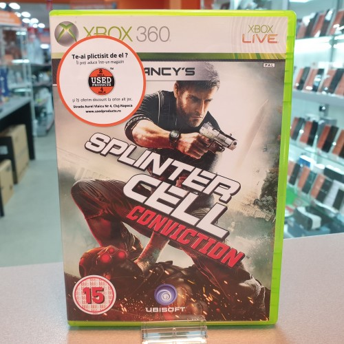 Tom Clancy's Splinter Cell Conviction - Joc Xbox 360