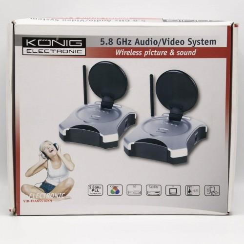 Transmitator / Receptor Audio Konig  5.8 GHz