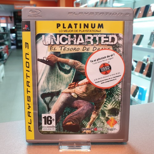 Uncharted: Drake's Fortune - Joc PS3