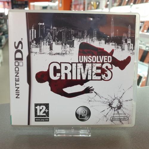 Unsolved Crimes - Joc Nintendo DS