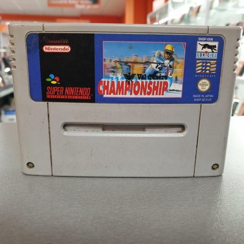 Val d'isere Championship - Joc Nintendo SNES