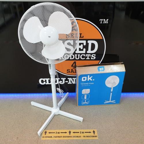 Ventilator cu picior OK. 45W OSF 4332 ES W