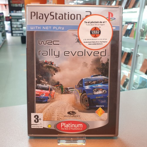 WRC Rally Evolved - Joc PS2