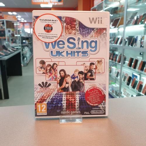 We Sing UK Hits - Joc Nintendo Wii