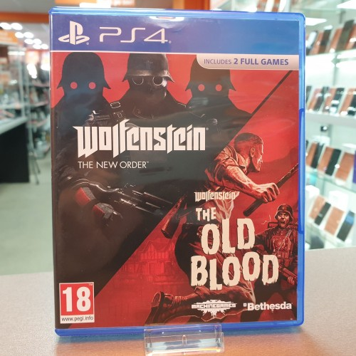 Wolfenstein The New Order & The Old Blood - Joc PS4