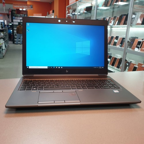 WorkStation HP ZBook 15 G6 - i7 9850H, 32 Gb RAM, SSD 1 Tb, nVidia Quadro T2000 4 Gb