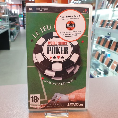 World Series of Poker - Joc PSP