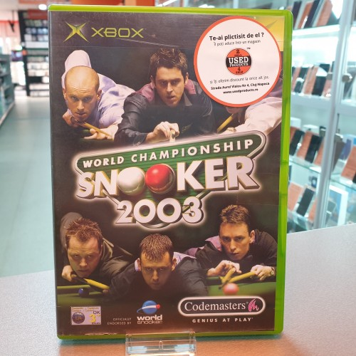 World Snooker Championship 2003 - Joc Xbox Classic