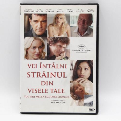 You Will Meet A Tall Dark Stranger / Vei Intalni Strainul Din Visele tale - DVD Filme