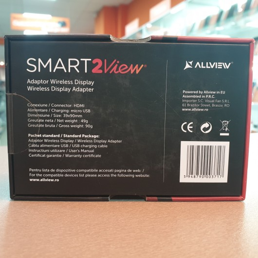 Adaptor HDMI wireless Allview Smart 2 View
