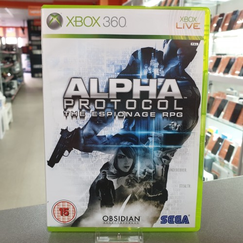 Alpha Protocol - Joc Xbox 360