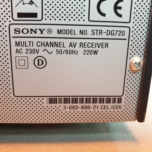 Amplificator Sony STR-DG720