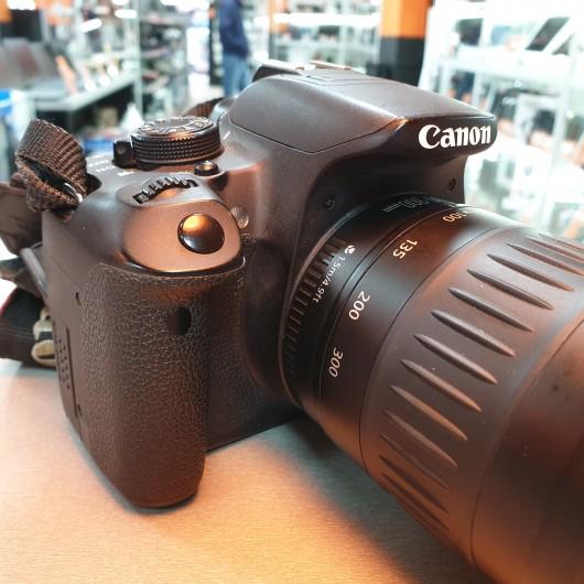 Canon EOS 700D + Obiectiv Canon 90-300mm EF 1:4.5-5.6