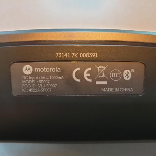 Boxa Portabila Motorola Sonic Play 275