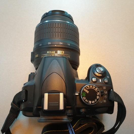 Aparat Foto Nikon D3100 + Obiectiv 18-55 mm