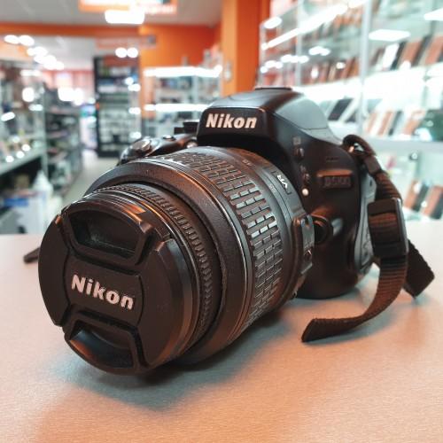 Aparat foto Nikon D5100 + Obiectiv 18-55mm