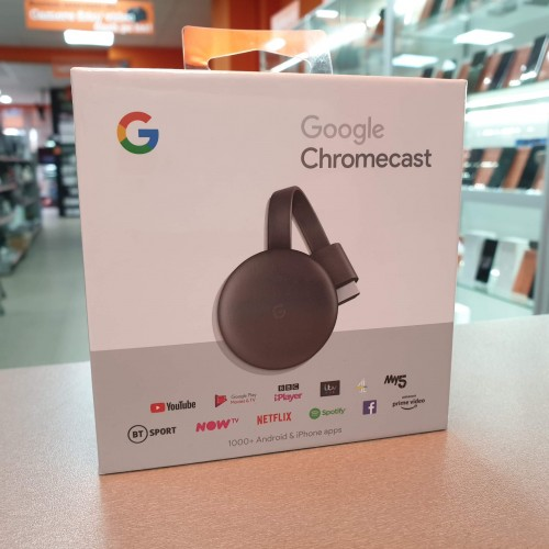 Google Chromecast 3 HDMI Streaming Media Player NC2-6A5