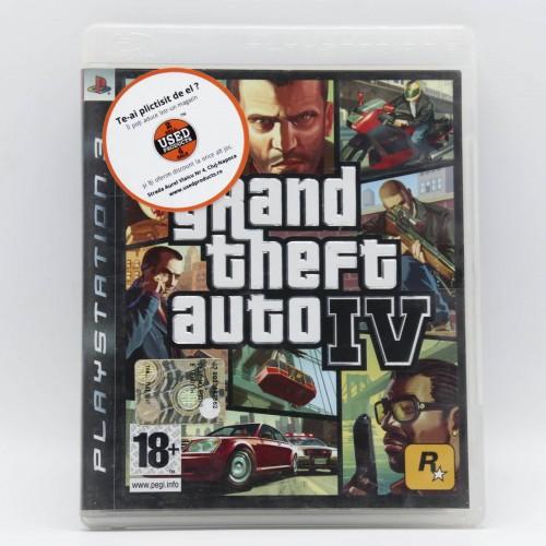 Grand Theft Auto IV - Joc PS3