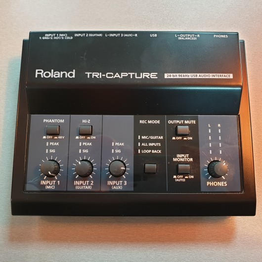Interfata audio USB Roland Tri-Capture UA-33