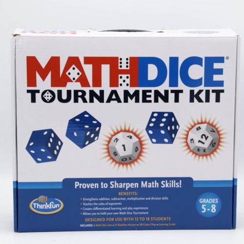 Math Dice Tournament Kit - Jocuri interactive de matematica