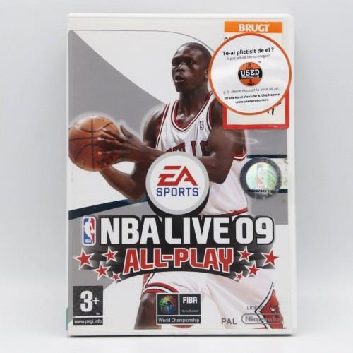 NBA Live 09 All-Play - Joc Nintendo WII