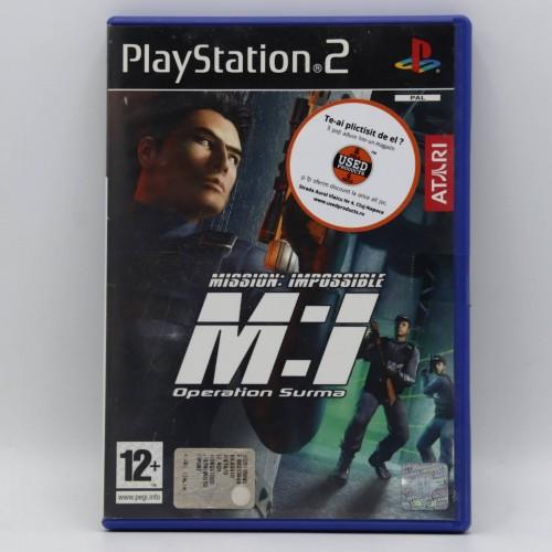 Mission: Impossible - Operation Surma - Joc PS2