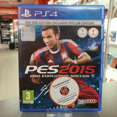 Pro Evolution Soccer 2015 - Joc PS4