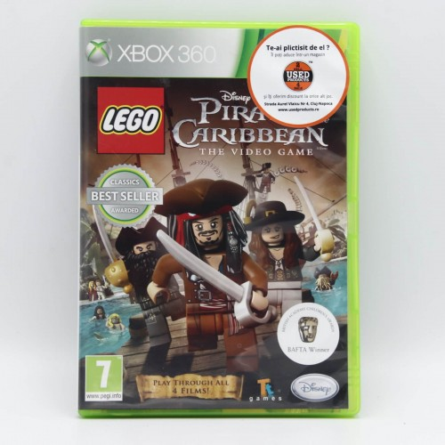 LEGO Pirates of the Caribbean The Video Game - Joc Xbox 360