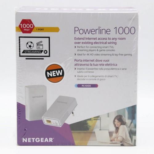 Adaptor retea NetGear Powerline PL1000, 1000 Mbps