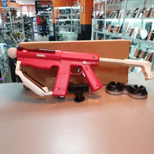 Set SONY Move Sharp Shooter + Navigation / Motion Controller + Camera PS3