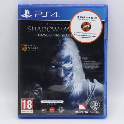 Shadow of Mordor - Joc  PS4