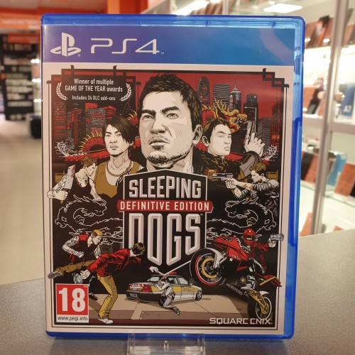 Sleeping Dogs - Joc PS4
