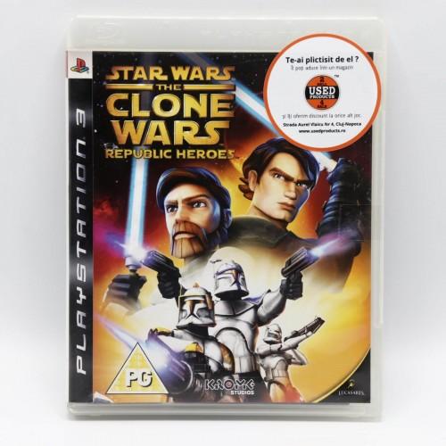 Star Wars The Clone Wars Republic Heroes - Joc PS3