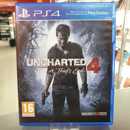 Uncharted 4 A Thief's End - Joc PS4