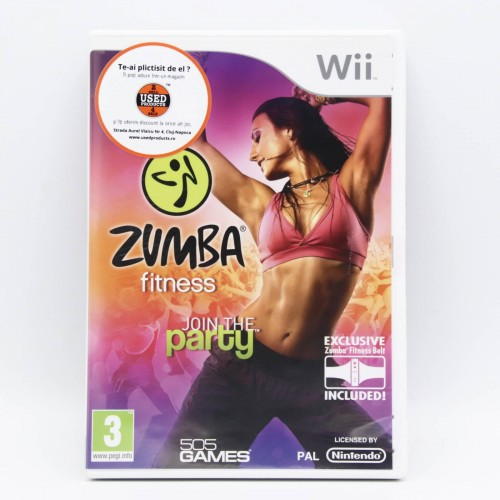 Zumba Fitness - Joc Nintendo WII